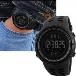 Relógio Digital Masculino Esportivo  Prova D Agua Skmei 1251