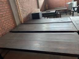 Mesas Rústicas Madeira de Demolição -Ótimo preço