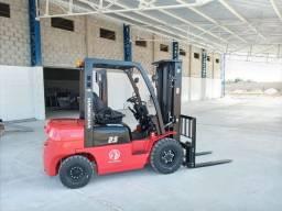 Empilhadeira Hangcha Série A | 2,5 toneladas Diesel | Torre Triplex