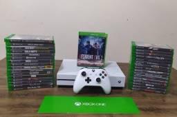 Xbox One S 4K + 200 Jogos Troco por PS4 SLIM parcelo em até 12 X