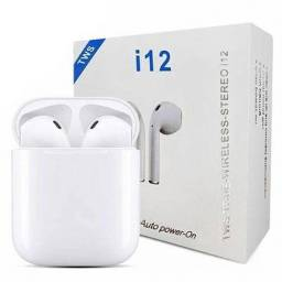 Fone De Ouvido Sem Fio Bluetooth I12 Touch iPhone Android