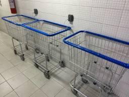 Recuperação de carrinhos de compras de condomínio