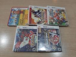 5 Jogos Nintendo 3DS - Originais
