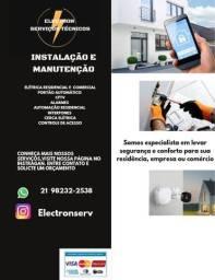 Eletricista-Automação de Portão
