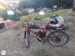 BIKE MOTORIZADA 80CC COROA 44