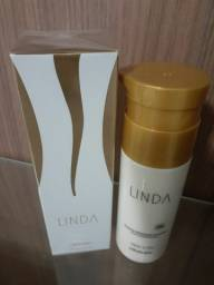 Perfume e hidratante Linda do Boticário. Leia o anúncio.