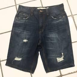 Vendo bermuda jeans masculina nova tam.36