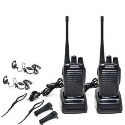 2 Rádio Comunicador Walk Talk Baofeng Bf-777s