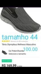 Tênis olimpikus wellness 42 e 44. Originais