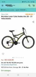 Bicicleta Caloi aro 26 em Lajedo Pe