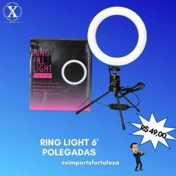 Iluminador Ring Light 6' Polegadas
