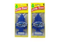 Kit 2 Little Trees Aromatizante Cheirinho Carro Original - New Car