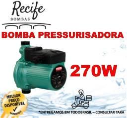 Bomba Pressurizadora 270W 3400Litros/h