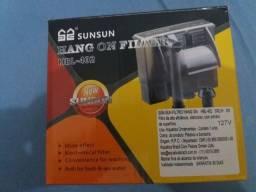 Filtro SunSun Hang on HBL-402 novo na caixa