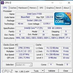 Kit core i7 + Placa mãe x58 + 2GB ram