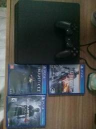 Sony PlayStation 4 Slim 500 GB COM 3 JOGOS