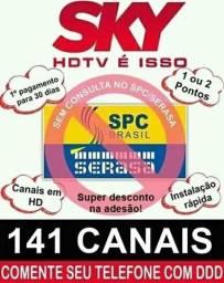 Master HD 141 canais instalação grátis