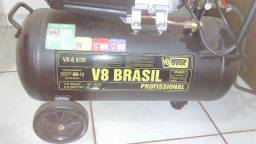 Compressor V8 2HP 50 litros 220V