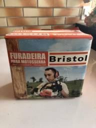 Furadeira Bristol para motosserra Sthil 08