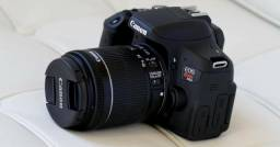 Camera Canon T6i seminova sem uso. Troco iphone 8