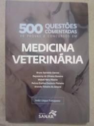 500 Questões comentadas de concurso para medicina veterinária