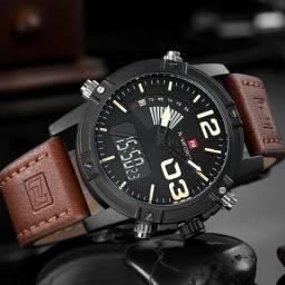 6f2bc0ae1cd Relógio Digital Naviforce Aço inoxidável Promoção