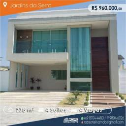 Casa Duplex Jardins da Serra, 4 Suites, Piscina e ótima negociação
