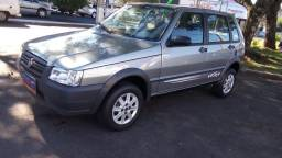FIAT UNO 2010/2011 1.0 MPI MILLE WAY ECONOMY 8V FLEX 4P MANUAL - 2011