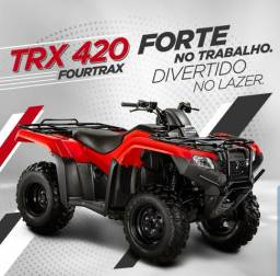 Quadriciclo Honda TRX 420 Fourtrax 4x4 - 2019