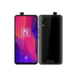 "Smartphone Blu Bold N1 Dual Sim LTE 6.4"" HD+ 4GB/128GB Câm. 16+5MP/13MP Black"