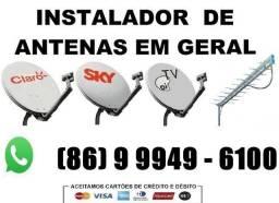Antenas - Manutenção e Instalação