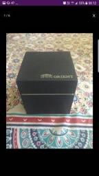 Relógio orient com caixa
