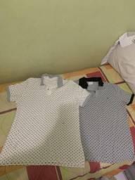 Camisa gola polo M e P