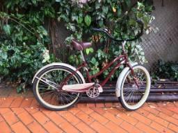 Bike vintage faixa branca da huffy confort
