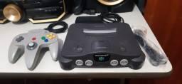 Vendo Nintendo 64 ( aceito cartão)