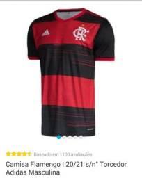 Camisa oficial do Flamengo.