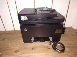 HP color LaserJet Pro MFP M177fw BARBADA! pra vender hoje