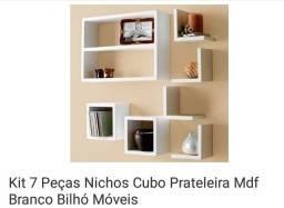 Kit Nicho 7 peças novo na caixa