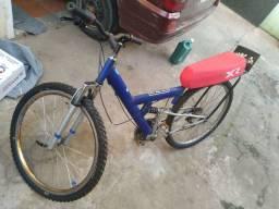 Bicicleta aro 26 com banco de Mobilete novo