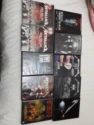 Dvds do Metallica
