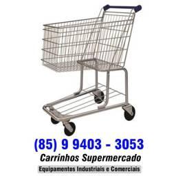 Carrinhos para supermercados na promissoria