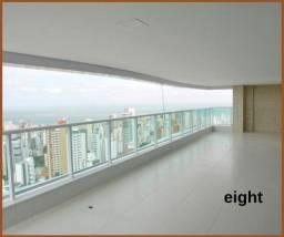 Apartamento com 4 suítes- Riservatto Graça - no melhor de Salvador-Luxo e Exclusividade