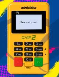 Máquina de Cartão com Chip e Wifi, Acompanha Cartão Pré-Pago