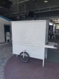 Barraca p/ vender lanches