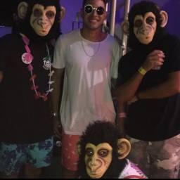 Máscara de Macaco Mascarasbrasil