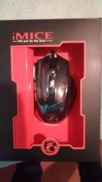 Vendo mouse x7 gaming novo na caixa
