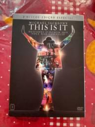 DVD Michael Jackson THIS IS IT em ótimo estado