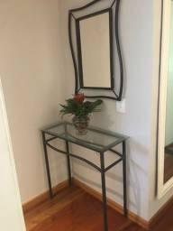 Conjunto de ferro mesa e espelho