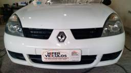 Clio Campos 1.0 16V 2009, carro de repasse, super inteiro