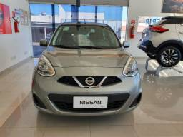 Nissan March 1.0 SV Completo, Cambio manual 2019/2020, 5000km